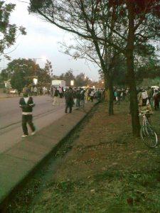 Car accident on Wayaki Way, Nairobi