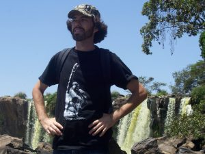 Alan at Fourteen Falls, Thika
