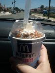 McFlurry with Peanut Butter Cups