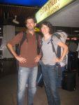 Dropping Randi off at Jomo Kenyatta airport