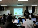 Alan teaching git at ILRI