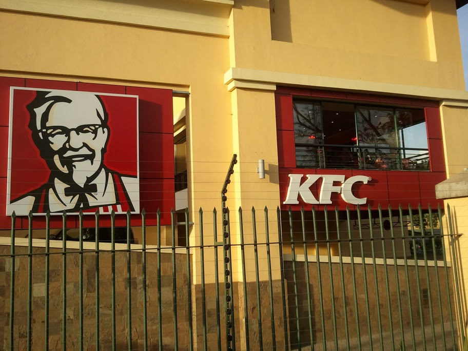 KFC at the Junction mall in Nairobi, Kenya