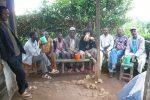 Drinking banana beer in Tanzania