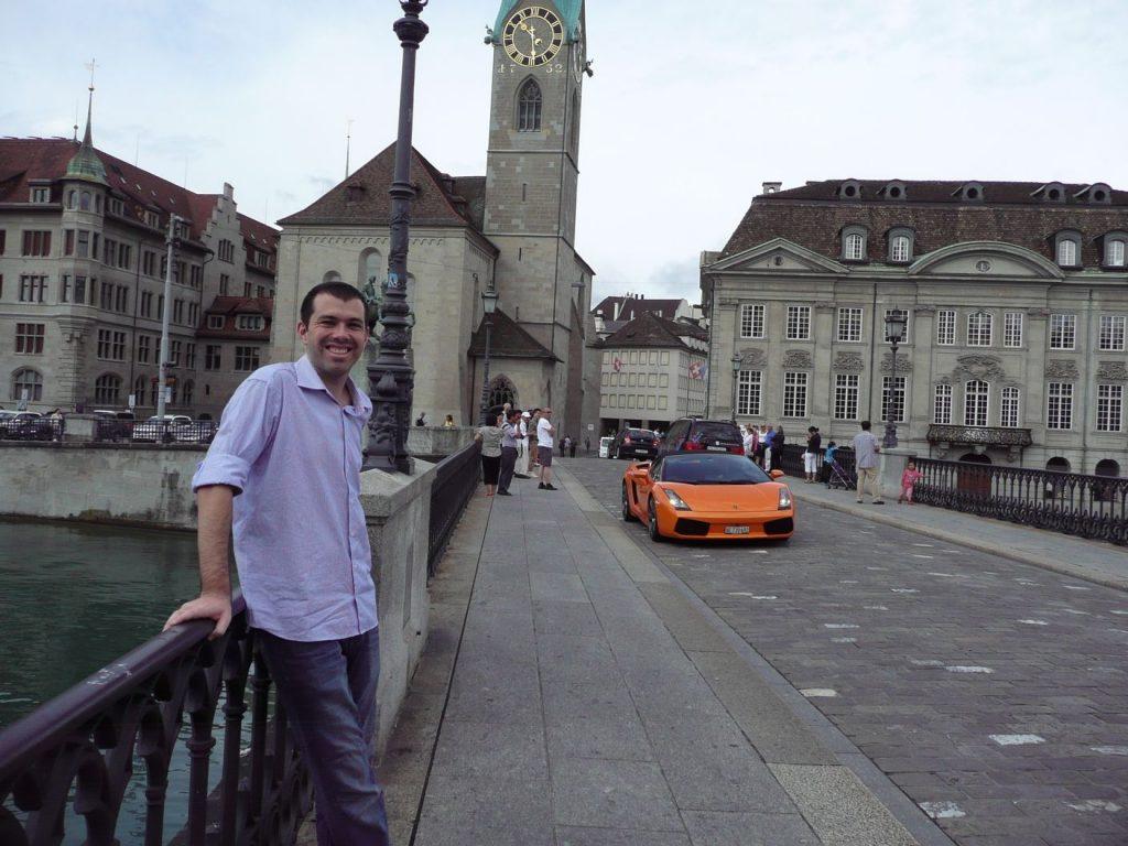 Lambo in Zürich