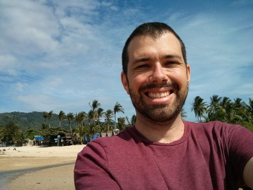Alan in Lamai beach, Koh Samui