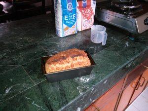 Delicious home-made bread