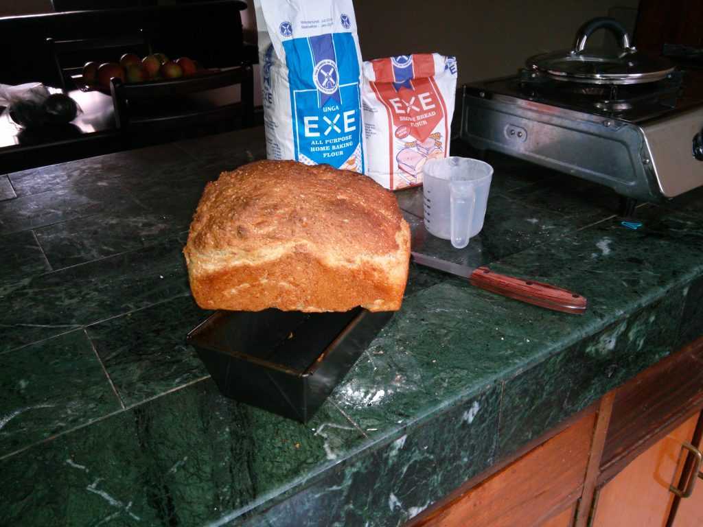 Delicious home-made bread