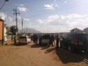 Looking at Tanzania (from Namanga, Kenya)
