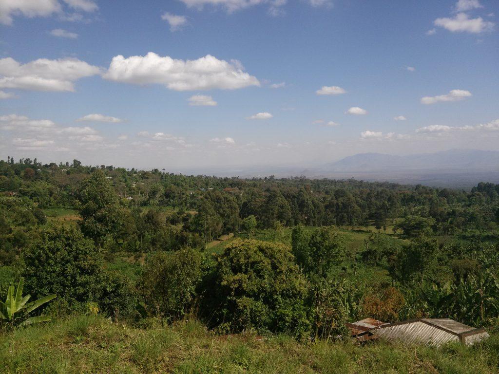 Beautiful view from Marangu village