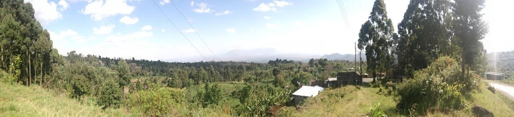 Panorama from Marangu