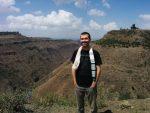 Alan at Koremash Gorge