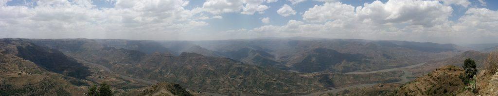 Koremash Gorge panorama