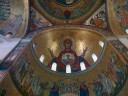 Ceiling in Catholic (?) church in Harissa