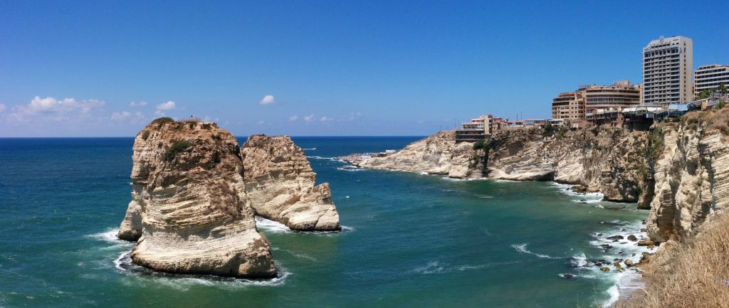 Rock of Raouché (Pigeons' Rock), Beirut