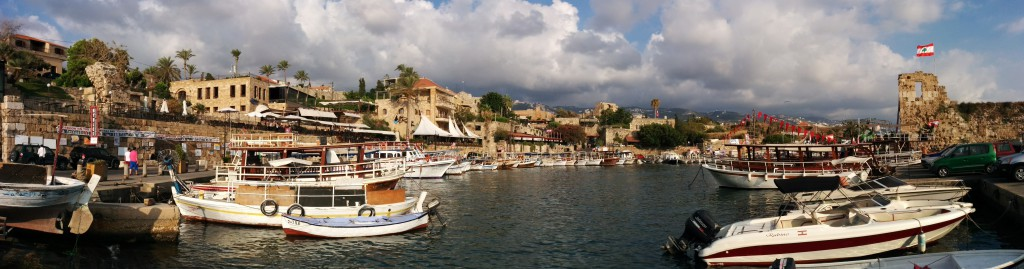 Harbor in Byblos