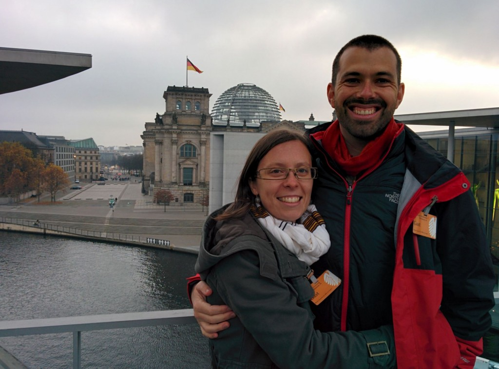 Berlin is chilly in November, but the Reichstag building is fascinating!