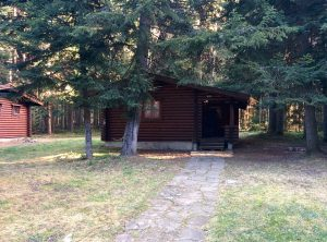 Our cabin in Borovets town
